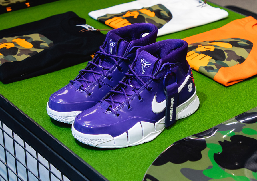 "Undefeated x Nike Kobe 1 Protro ""Purple"""