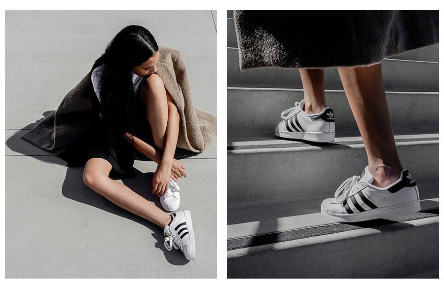 Adidas Superstar a street style