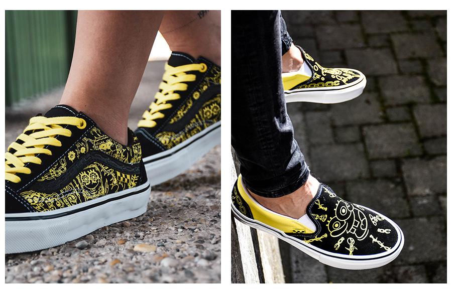 Cool žluto-černé boty foto2