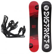 Snowboardové sety - Rossignol District + Battle