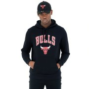 Mikiny - New Era Logo Hoody Chicago Bulls
