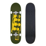 Skateboardové komplety - Alien Workshop Abduction Green / Yellow