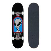 Skateboardové komplety - Alien Workshop Believe Black